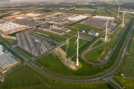 BMW-fabriken i Leipzig
